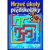 Hravé úkoly pro předškoláky - modrá -