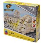 Beluga Dřevěné kostky na suchý zip Architektura Docklets
