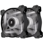 Corsair Air Series AF120 LED White Quiet Edition High Airflow 120mm Fan - Twin Pack, CO-9050016-WLED