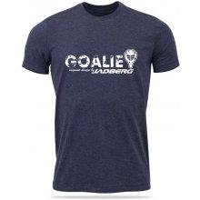 Jadberg Team-Goalie tričko modrošedá melír