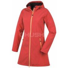 Husky SARA NEW dámský softshellový kabát červený