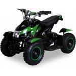 Goleto Dětská elektrická čtyřkolka ATV 800 W zelená