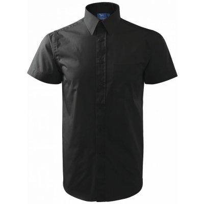 Adler shirt short sleeve krátký rukáv černá