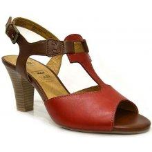 Caprice Letní sandály 9-28308-22 červené f07e431f79