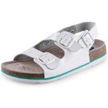 Zdravotní korkový sandál Dr.Cork, pánský, bílý