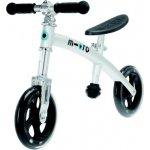 Micro Odrážedlo G-Bike+ light stříbrná