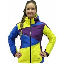 Blizzard Viva Performance Ski jacket fialová/modrá/žlutá