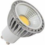 Ecolite LED žárovka GU10 230V LED 5W COB GU10 2700K Teplá bílá