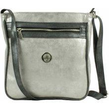 Dawidex crossbody kabelka stříbrná