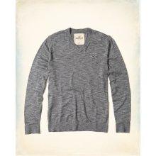 Hollister Co. Pánský svetr Hollister světle šedý