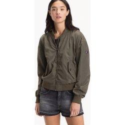 Dámská bunda a kabát Tommy Hilfiger Essential zelená e34c251bbc