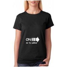 Fashion Manufacturer on mi to udělal dámské těhotenské tričko pro nastávající maminky