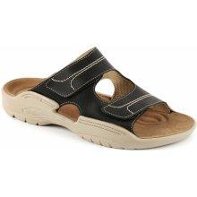 5e815b3383b6 Pantofle MICHAL zdravotní pánská černá 2M-M16 Medistyle