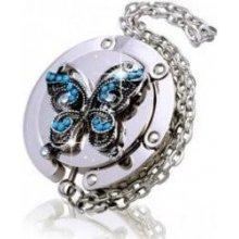 Háček na kabelku - Motýl 3D