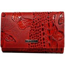 Lorenti Dámská kožená peněženka 55020-BF Red