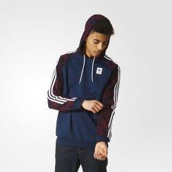 ad9b135c8 Adidas Originals BB HOODIE AY8732 Pánská mikina s kapucí Modrá ...
