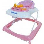 Baby Mix Chodítko dětské s volantem pink