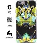 Pouzdro JUST CAVALLI Leo Giraffa Cover - iPhone 6s / iPhone 6 černé