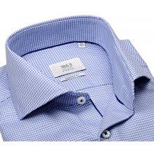 Eterna 1863 Modern Fit Two Ply - luxusní košile s modro-bílým vetkaným  vzorem 0020cc04c6