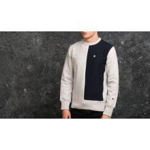 Champion Reverse Weave Crewneck Sweatshirt Grey/ Navy