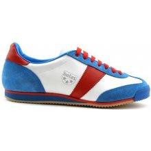 0098e67e2d1 Botas CLASSIC 911 bílo-modro-červená