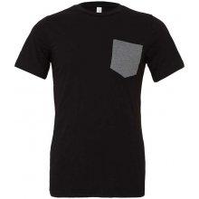 Tričko s kapsou Černá