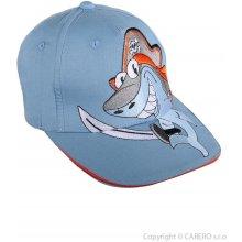 Letní dětská Žralok světle modrá