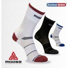 Moose Race sportovní cyklo ponožky černá afae423dc4