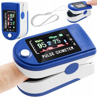 ISO 14245 Prstový pulzní oxymetr LCD