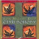 Čtyři dohody - inspirační karty - Miguel Don Ruiz