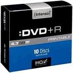 Intenso DVD+R DL 8,5GB 8x, printable, cakebox, 10ks (4381142)