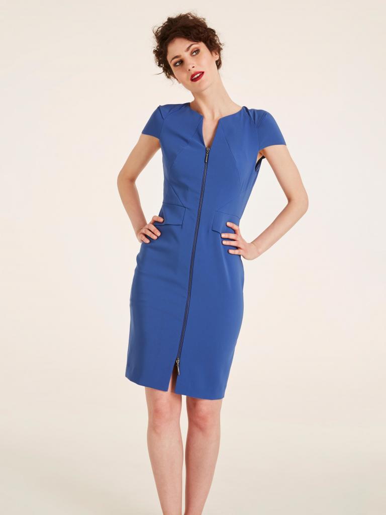 299cc0c50b18 Ashley Brooke by heine pouzdrové šaty s odpínatelným kombiné se zeštíhlující  funkcí královská modrá alternativy - Heureka.cz