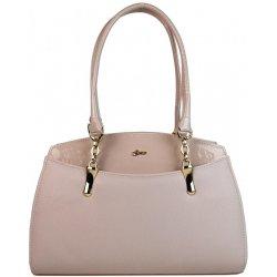 de877a36f1 Grosso elegantní kabelka s řetízkem S498 Pudrová alternativy ...