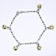 Swarovski krystaly jonquil, kytičky, R 1297