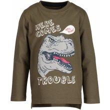 Blue Seven Chlapecké tričko s dinosaurem - hnědé ff431c357c4