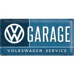 Postershop Plechová cedule: VW Garage - 25x50 cm