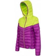 4F KUD003 dámská bunda fialová