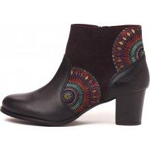 Desigual dámská kotníčková obuv černá
