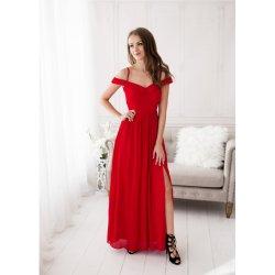 Eva   Lola společenské plesové šaty Alicia červená od 1 690 Kč ... 1777ec5c24