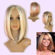 V&V fashion Dámská paruka Veronique mix blond červená
