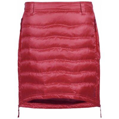 Zimní sukně péřová Short Down SKHOOP sweet red