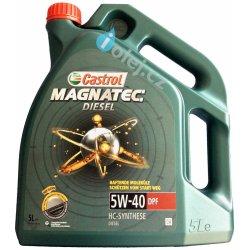Mazivo, olej, sprej Castrol Magnatec Diesel DPF 5W-40, 5 l