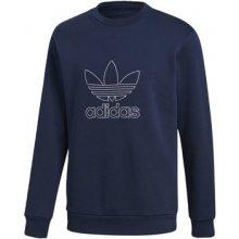 b3997328179 Adidas Mikina Outline Crewneck Modrá