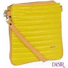 d81406a096 Grosso prošívaná crossbody kabelka M188 Hořčicová žlutá