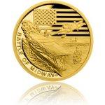 Česká mincovna Zlatá mince Válečný rok 1942 Bitva u Midway 3,11 g