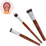 Sefiros Sada štětců pro konturování obličeje s rukojetí z červeného dřeva Red Wood (Conturing Brush Kit)