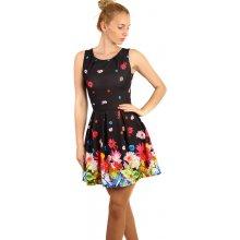 Květované šaty černá - Heureka.cz fa6dba1bee