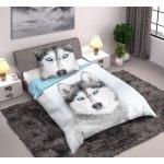 Faro bavlna povlečení Husky 140x200 70x90