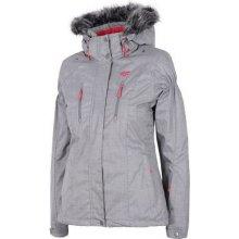Dámská zimní bunda šedá