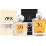 Luxure parfumes Yes I Want You EDP 100 ml + Luxure parfumes Yes I Need You EDP 100 ml dárková sada